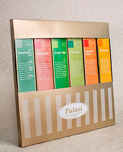 Tulasi premium incense gift pack