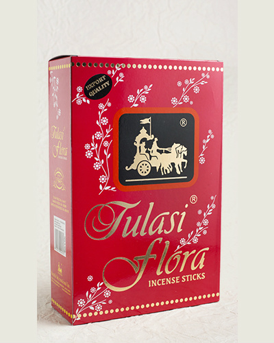 Tulasi Flora Incense Sticks in 25 Grams Box