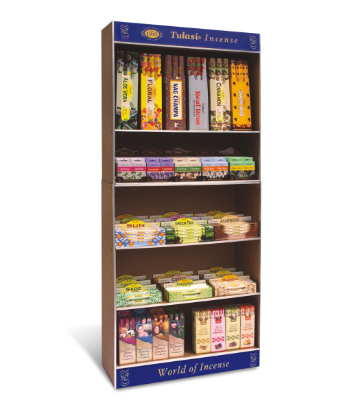 Tulasi Incense, Tulasi Full Range Tall Display Unit manufacturing by Sarathi